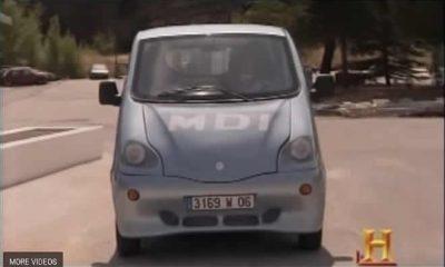 Car runs on air